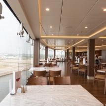 Erstanlauf der MSC Merviglia in Hamburg - MSC Kreuzfahrten Buffet Restaurant