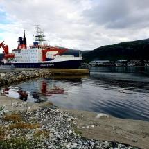 Forschungsschiff Polarstern in Tromsø