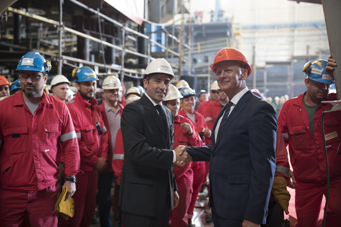 Hapag-Lloyd Cruises: Dritter Expeditionsneubau HANSEATIC spirit auf Kiel gelegt