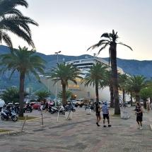 MSC Sinfonia in Kotor Montenegro