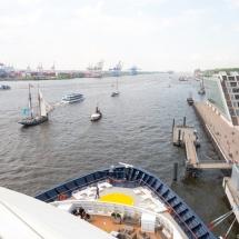 Mein Schiff 1 TUI Cruises Taufe in Hamburg-Dockland