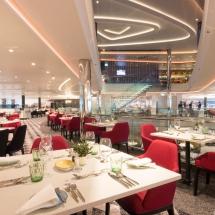 Mein Schiff 1 TUI Cruises Taufe in Hamburg-Restaurant Essen