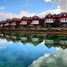 Norwegische Ferienhäuser in Stokmarknes