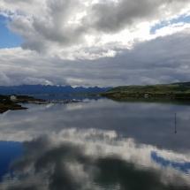 Panorama-Ausblick in Stokmarknes