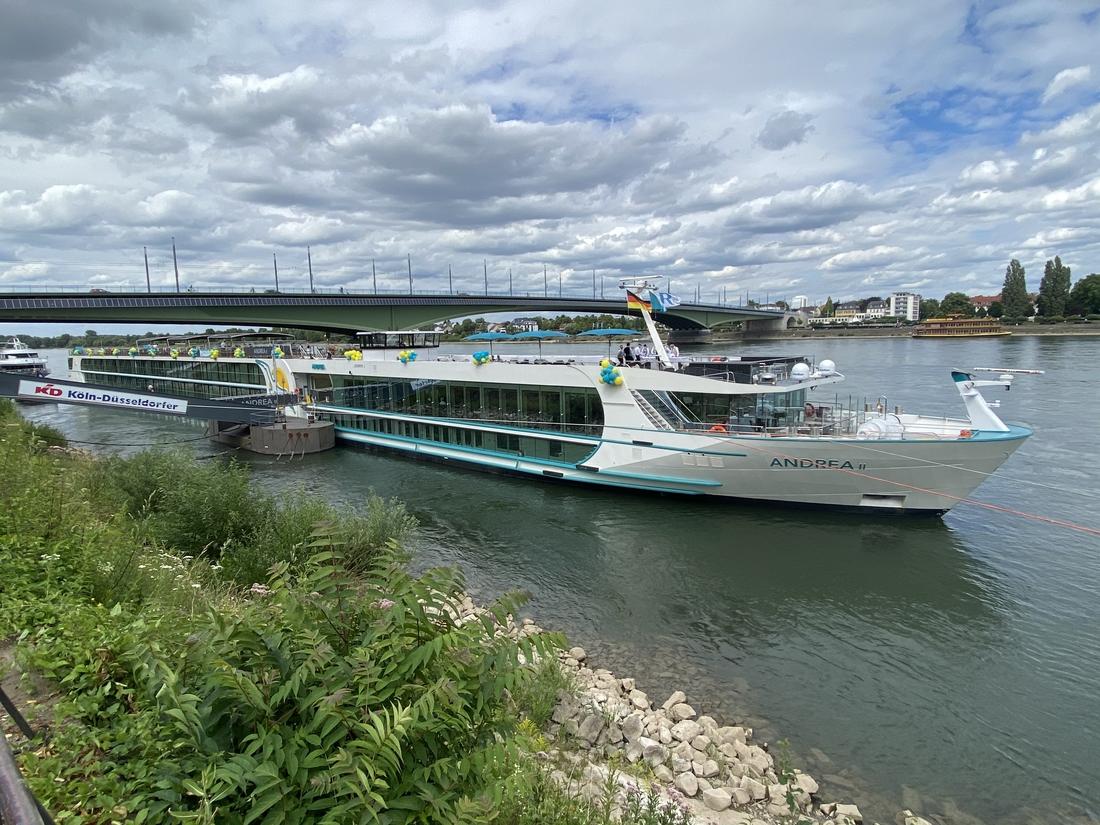 Phoenix Reisen tauft MS Andrea: Flussneubau auf Rhein und Mosel unterwegs