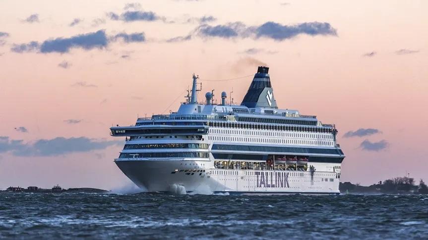 Tallink Silja: Silja Europa wird in der Turku Repair Werft in Naantali restauriert